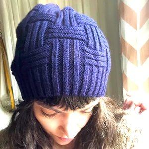 Navy Beenie Hat